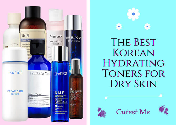 The best Korean hydrating toners for dry skin