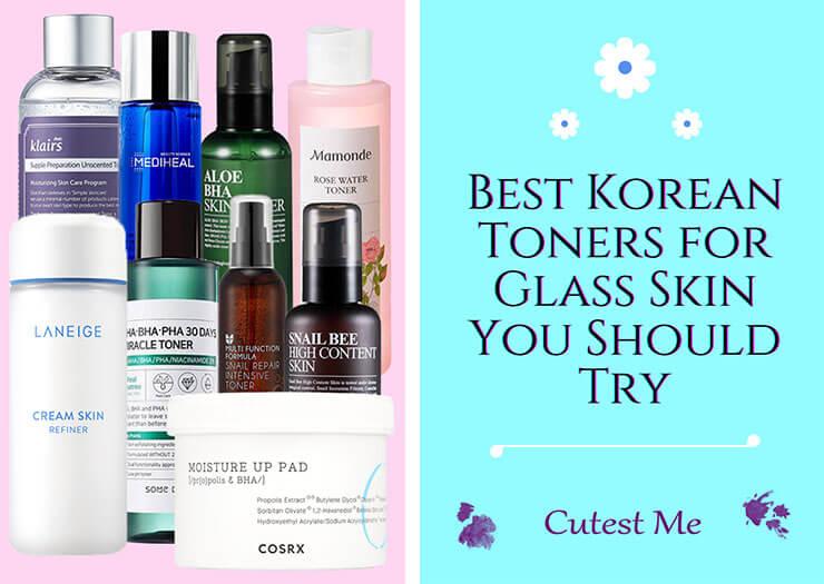 Best Korean toners for glass skin