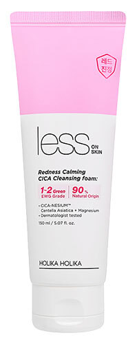 Holika Holika Less On Skin Redness Calming CICA Cleansing Foam