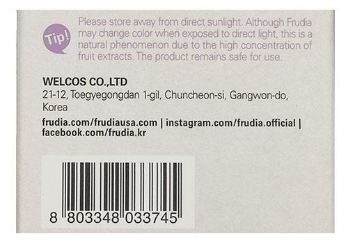 Frudia Blueberry Hydrating Toner barcode