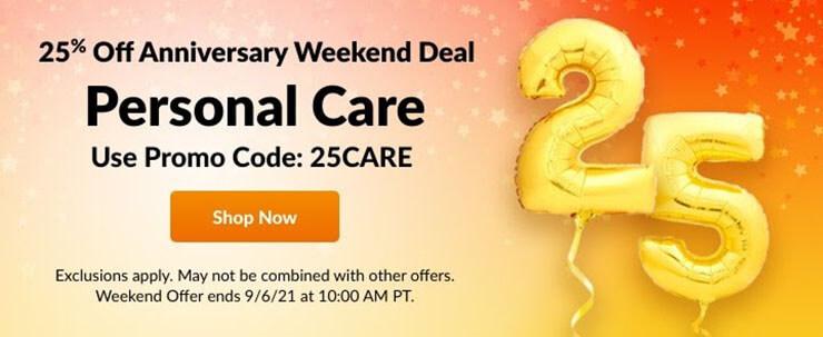 iHerb September anniversary discount code