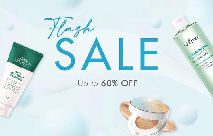Stylevana flash sale banner
